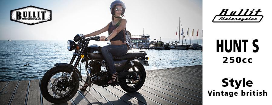 Moto Bullit Hunt S 125 et 250cc