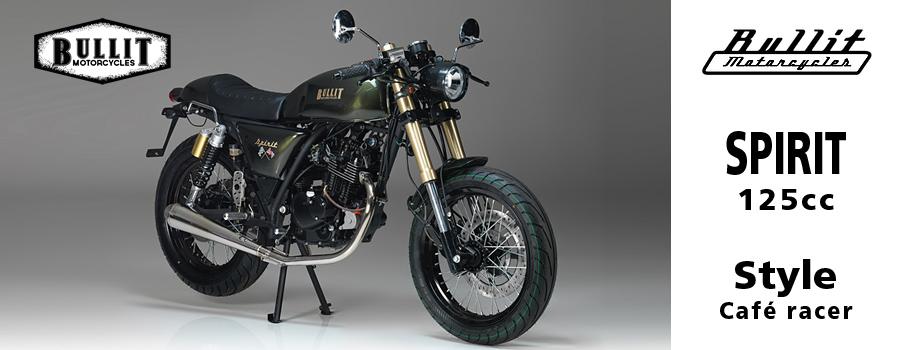 moto Bullit Spirit 125 Cafe Racer