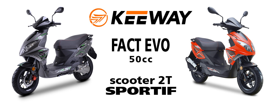 scooter KEEWAY Fact Evo 50