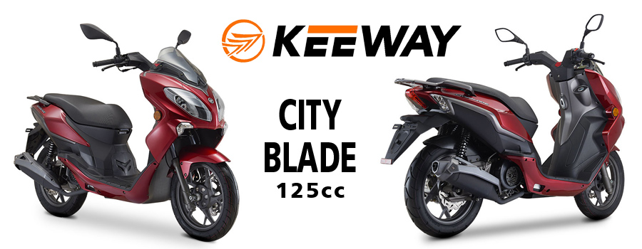 scooter KEEWAY City Blade 125