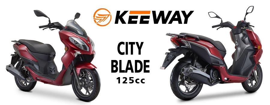 scooter KEEWAY City Blade 125