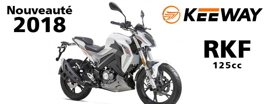 moto KEEWAY RKF125