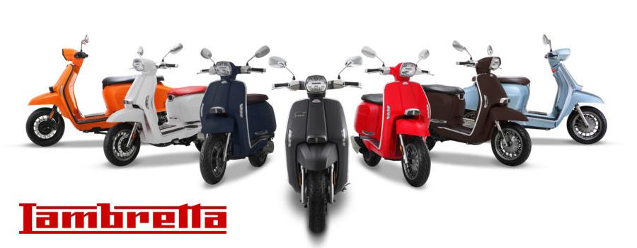 scooter Lambretta 50, 125 et 200 CC