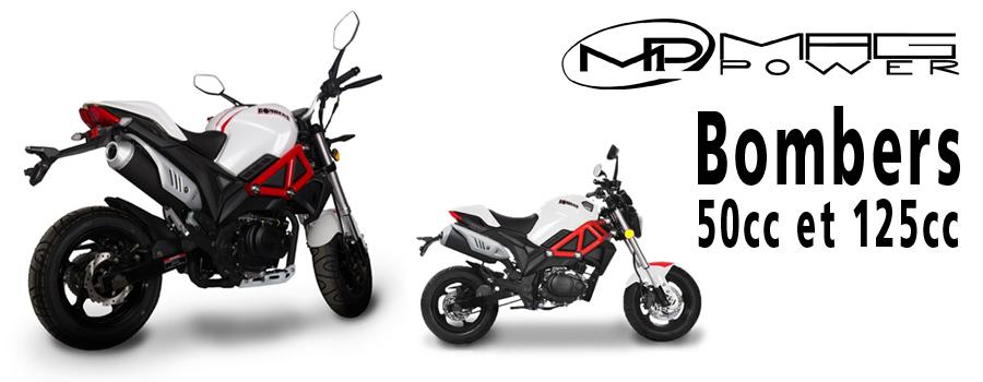 moto Mag Power Bombers 50 et 125cc