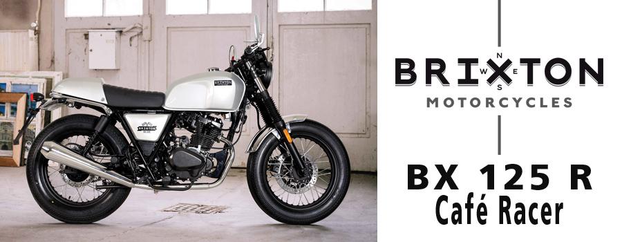 Motos BRIXTON BX 125 R Café Racer