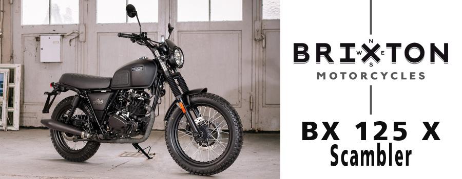 Motos BRIXTON BX 125 X Scrambler