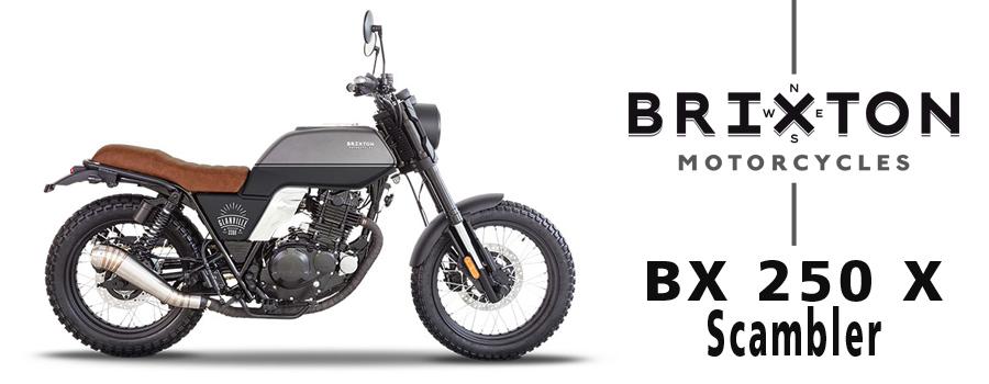 Motos BRIXTON Granville BX 250 X Scrambler