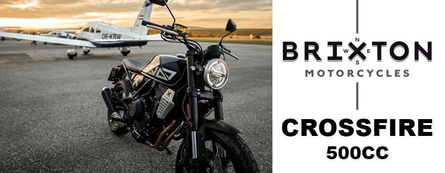 moto Brixton Crossfire 500 et 500X