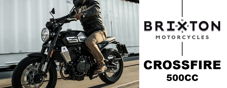 Motos BRIXTON 500 et 500X