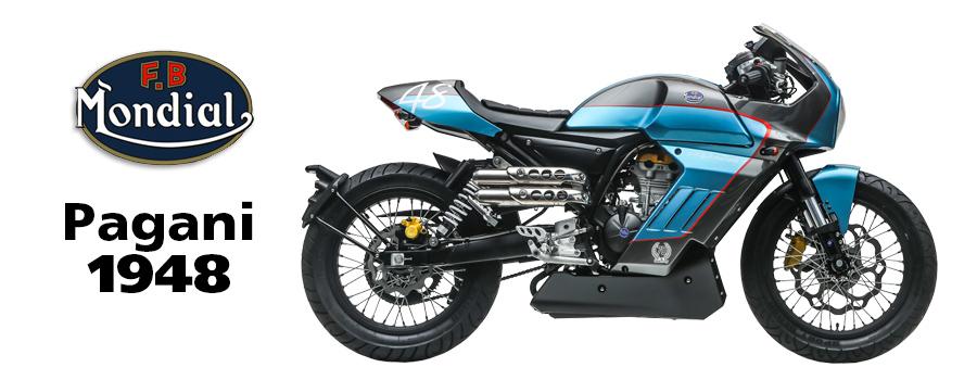 moto FB Mondial Pagani Sport Classic 125 et 300cc