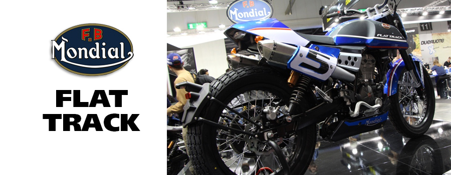 moto FB Mondial Flat Track HPS 125cc