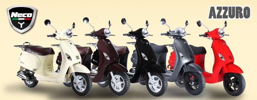scooter chinois Neco Azzuro