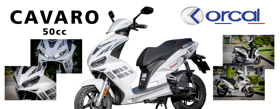scooter 50cc Orcal Cavaro 4T