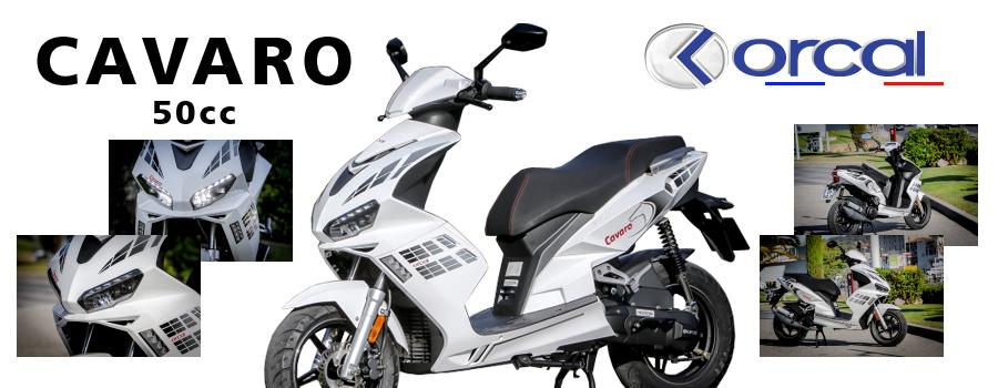 scooter 50cc Orcal Cavaro 4T