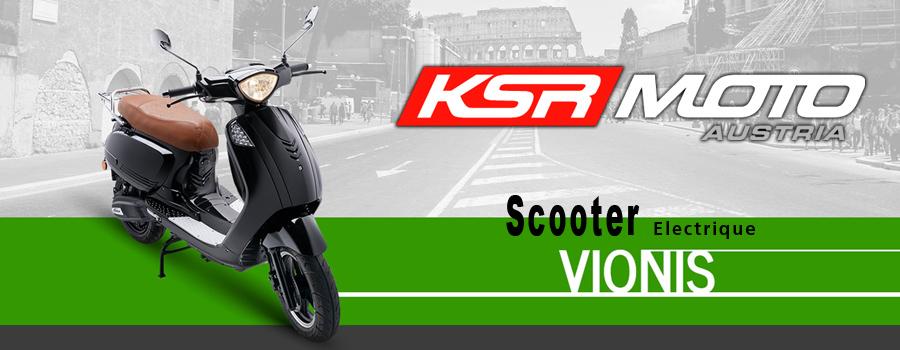 Scooter électrique KSR Moto modèle Vionis