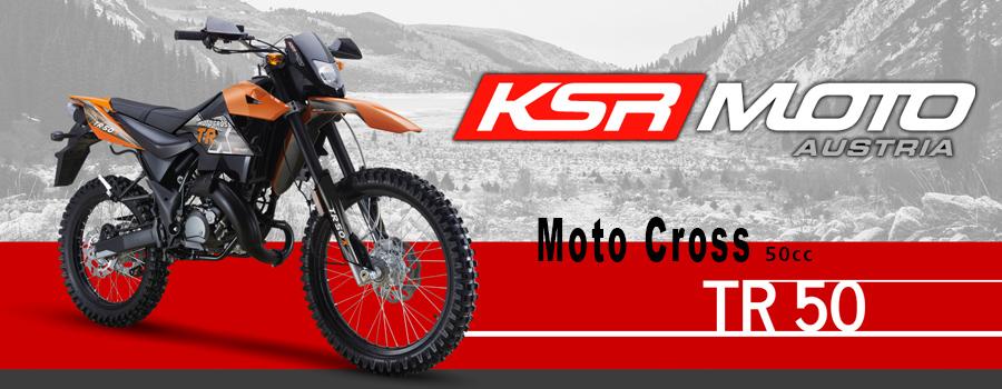 Scooter KSR Moto modèle TR50 50cc