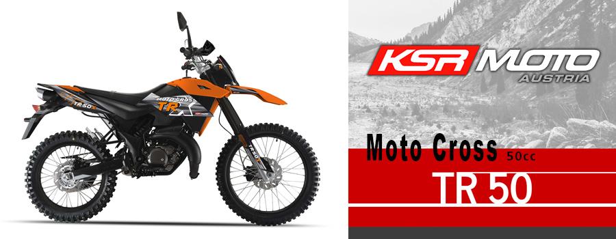moto Cross KSR Moto TR50 50cc