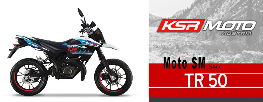 moto Cross KSR Moto TR50 SM 50cc