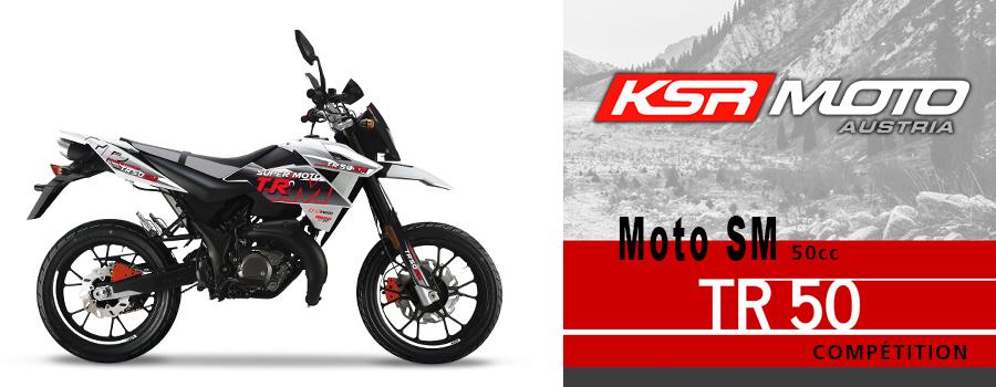 moto Cross KSR Moto TR50 SM Compétition 50cc