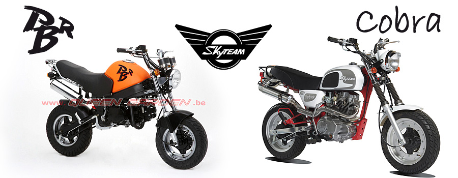 mini 4 temps PBR et moto Cobra de Skyteam