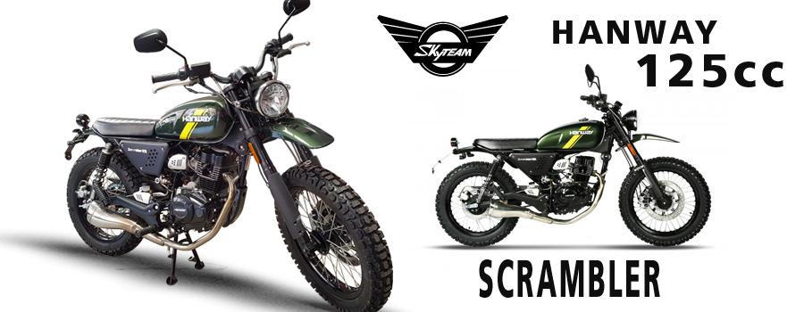moto Scrambler Hanway 125