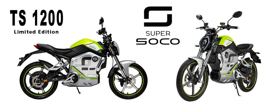 moto électrique Super SOCO TS Limited edition