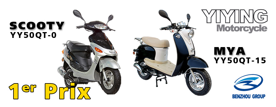 scoot discount scooters chinois 50 et 125cc prix discount yiying neco orcal keeway. Black Bedroom Furniture Sets. Home Design Ideas