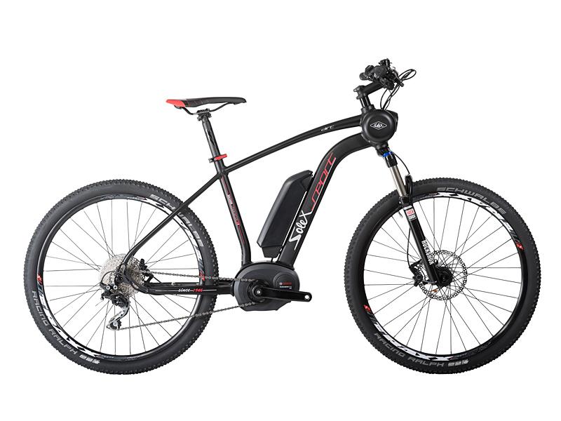 magasin vélos Nice - vélo électrique Solex modèle SPORT TREKKING