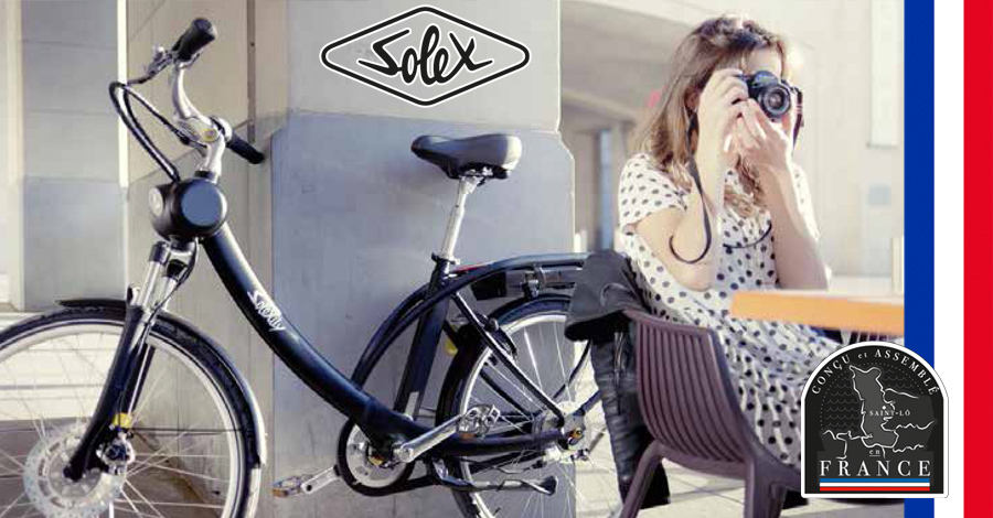 magasin vélo électrique Nice - vélos Solex